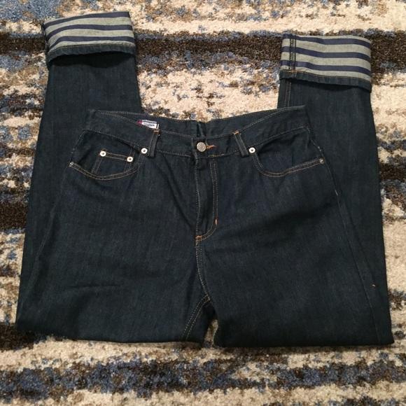 d8bfc40a6b10e Jean Paul Gaultier Denim - Jean Paul Gaultier La Redoute Dark Wash Jeans