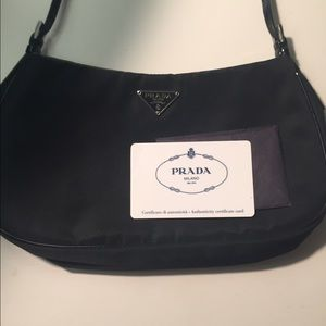 Black Prada evening bag on Poshmark