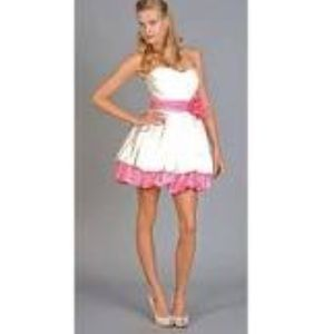 Pink Betsey Johnson prom dress on Poshmark