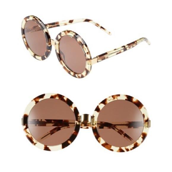 788fae985e WILDFOX Tortoise 56mm Malibu Round Sunglasses. M 569dd7337fab3ac25906c0db