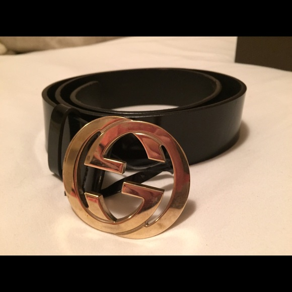 Gucci Accessories - GUCCI Patent Leather Belt