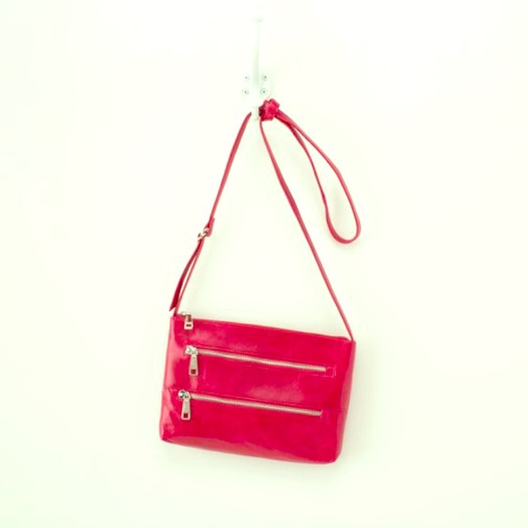 85% off HOBO Handbags - HOBO Mara Crossbody Bag - Garnet from ...