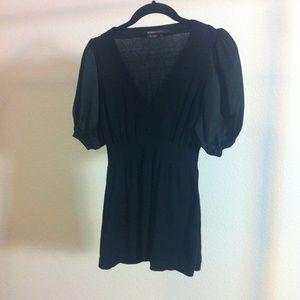 BCBGMaxAzria black blouse!