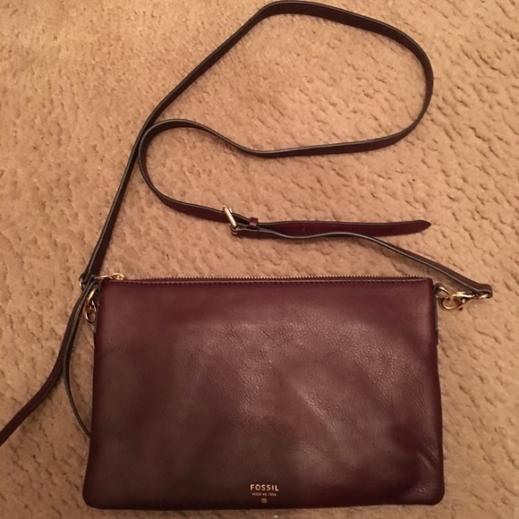 Fossil Handbags - Fossil Crossbody Sydney top zip bag 63863960e2593