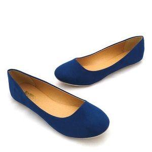 ShuShop Shoes - Navy Flats by ShuShop