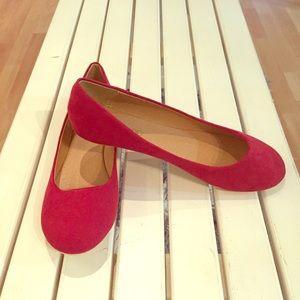 ShuShop Shoes - Red Flats by ShuShop