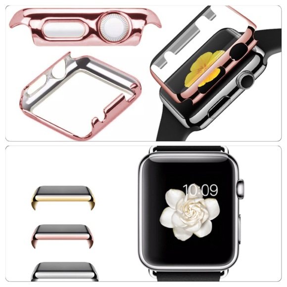 los angeles 266df d7555 Apple iwatch protective face cover! 42mm Rose gold NWT