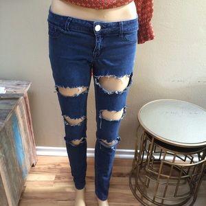 Denim - Fashionable jeans