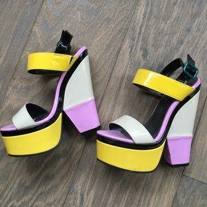 Shoe Republic La Shoes - Color block shoes
