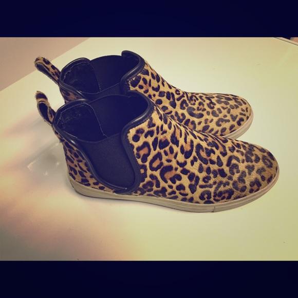 a81d12c1439 Steve Madden Elvinn Leopard High Top Slip On Shoe.  M 569e8ca051e9ead2f0074427