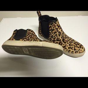 ef816729257 Steven by Steve Madden Shoes - Steve Madden Elvinn Leopard High Top Slip On  Shoe