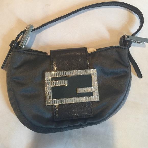 366fd096702c FENDI CROISSANT SATIN DIAMANTÉ. M 56a25d99713fde964f002cf0. Other Bags ...