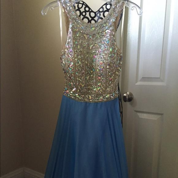 Dresses   Blue Cinderella Divine Prom Dress   Poshmark