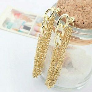 Jewelry - B2G1🆓️ Link Chain Tassel Earrings