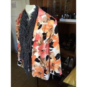 Alfred Dunner Jackets & Blazers - New floral blazer