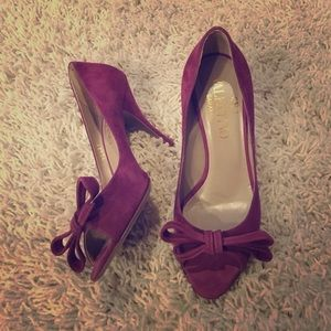 Valentino Shoes - ❄️FINAL SALE TODAY❄️Valentino suede now peep toes