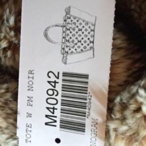 Louis Vuitton Bags - Louis Vuitton W PM Tote Monogram and Noir (Black)