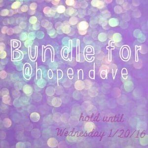 Dresses & Skirts - Bundle for @hopendave