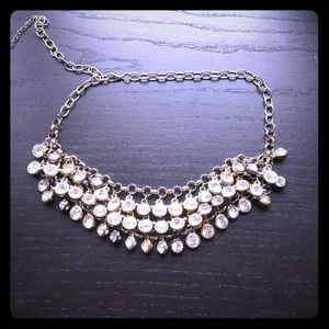 Gold & Silver Rhinestone Necklace