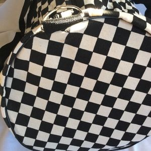 f68c8cc8f9 Vans Bags - Vans Checkered Canvas Duffle Bag