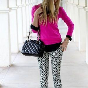 PINK Victoria's Secret Tops - Long Sleeve Pink Victoria's Secret V Neck Top!