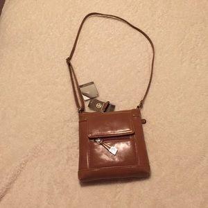 Giani Bernini Brown Leather Purse NEW