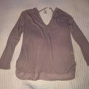 New with tag, beige color, size M very light top.