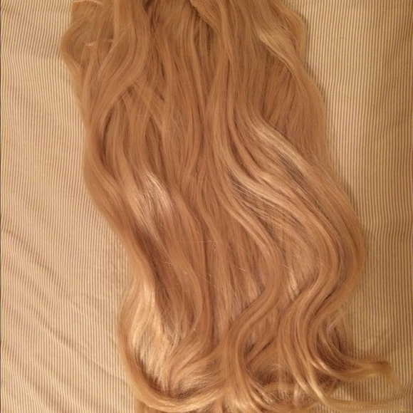 Accessories Euronext 18 Clip In Remy Blonde Hair Extensions Poshmark