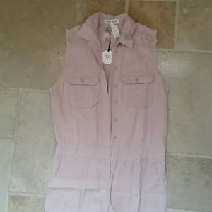 Pants - Pink overalls