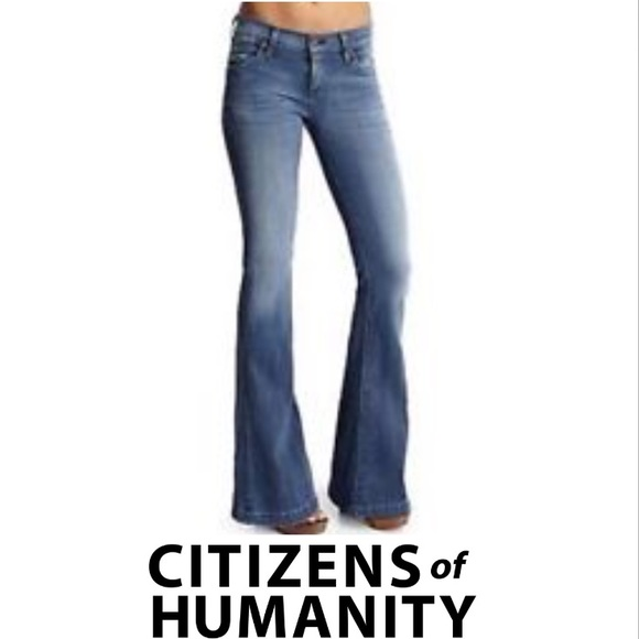 low-rise flared jeans - Blue Citizens Of Humanity De4lBNS