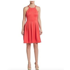 Calvin Klein Dresses & Skirts - !! Calvin Klein Fit and Flare Dress with Pleats !!