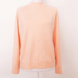 White Stag Sweaters - Peach High Neck Sweater