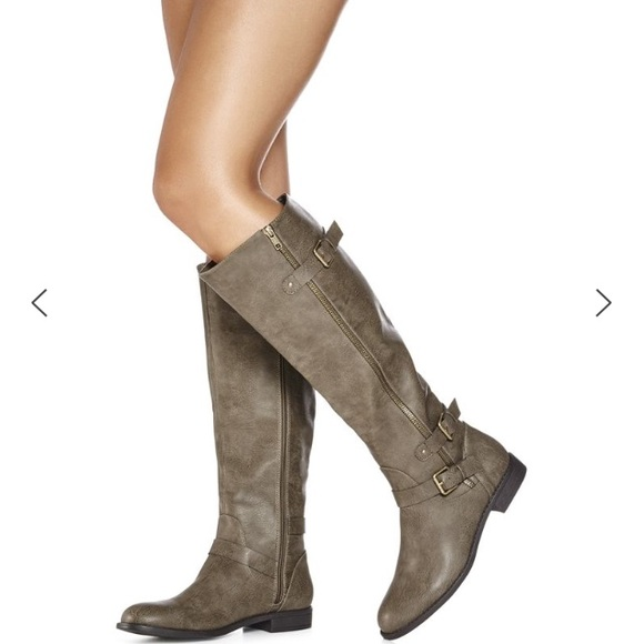 69 justfab shoes brand new knee high boots from