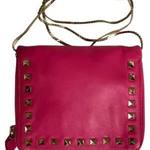 Authentic Valentino Rockstud Pink Crossbody bag