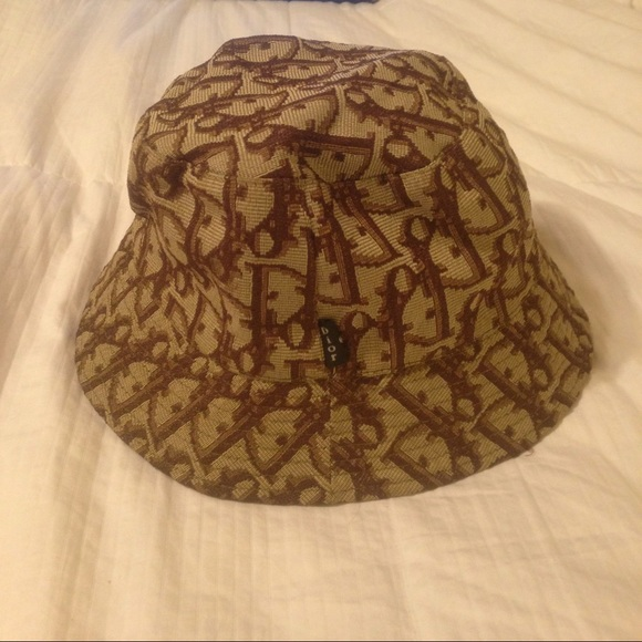 Dior Accessories - Vintage Christian Dior Monogram Bucket Hat f969ec06fed