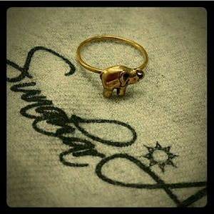 Sunahara Jewelry Jewelry - 🌻 Elephant treasure charm midi ring
