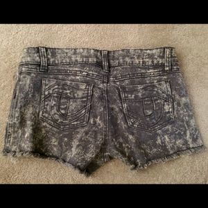 Tripp nyc Shorts - Tripp NYC grey snow wash cut off shorts sz 7