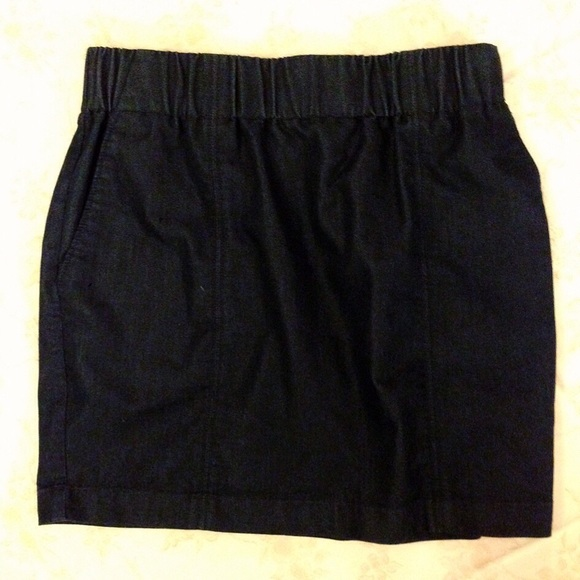 mossimo supply co midnight blue mini skirt from sami