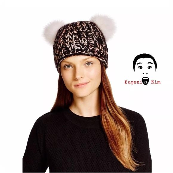 ANTHROPOLOGIE Mimi Hat Pom-Pom Eugenia Kim c8e44870500