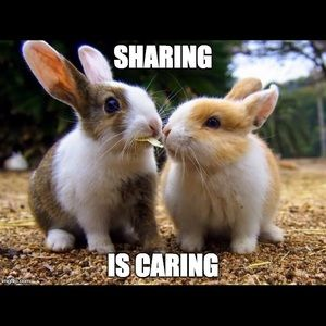 Other - A word about SHARING...