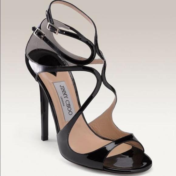 43 jimmy choo shoes jimmy choo black patent leather