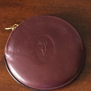 Cartier Handbags - Authentic Cartier Change Purse!