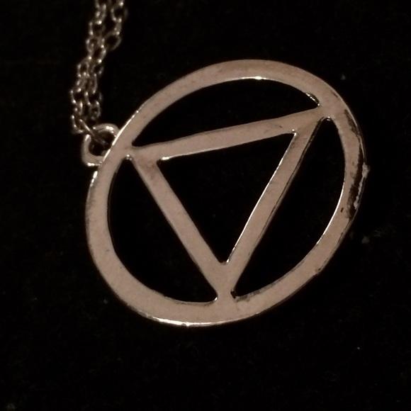 Aa Jewelry Sobriety Symbol Poshmark