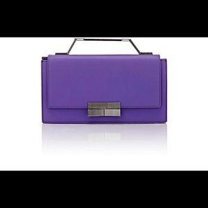 J. Mendel Handbags - J. Mendel Melodie Violet Clutch