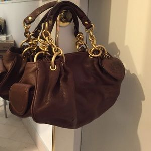 Brown Leather Juicy Couture handbag