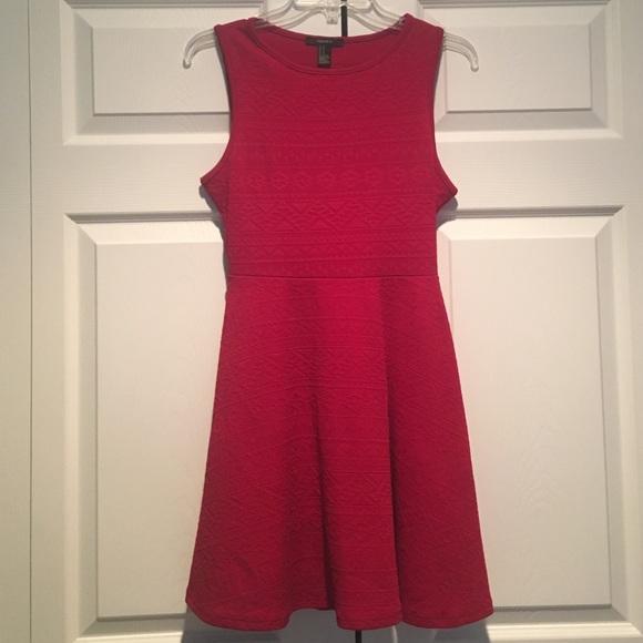 b197363502c Forever 21 Dresses   Skirts - Forever 21 Tribal-Inspired Skater Dress