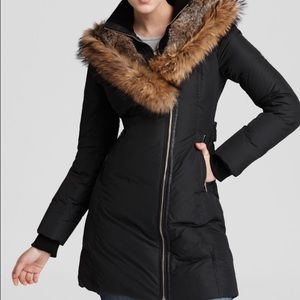 Mackage full fur hood jacket- size small-