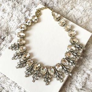 Jewelry - Clear Crystal Statement Necklace