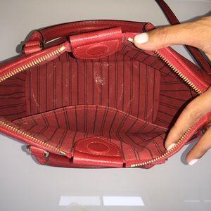 0a7e4522d721 Louis Vuitton Bags - Red LV Monogram Crossbody Tote MAZARINE MM Auth.