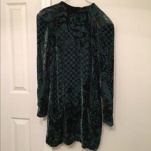 557a46ad Balmain Dresses   Hm X Silk Blend Velvet Dress   Poshmark